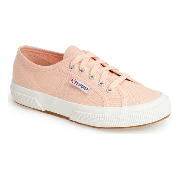 SUPERGA 'cotu' sneaker - Casual kicks in an array of terrific colors. The textured...
