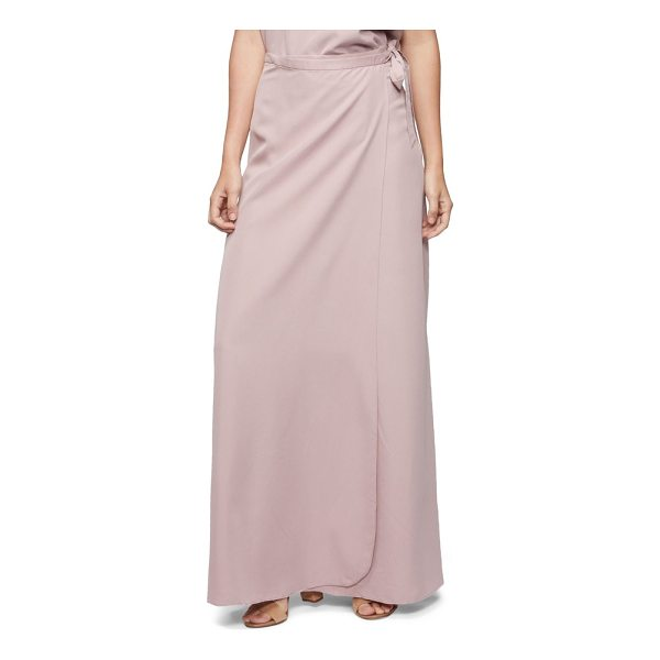 TAVIK lasting impressions cover-up maxi skirt - A convenient true-wrap style makes this sweeping, A-line...