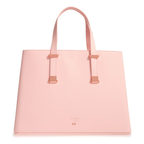 TED BAKER alissaa leather tote - Professional polish meets uptown chic on a leather tote...