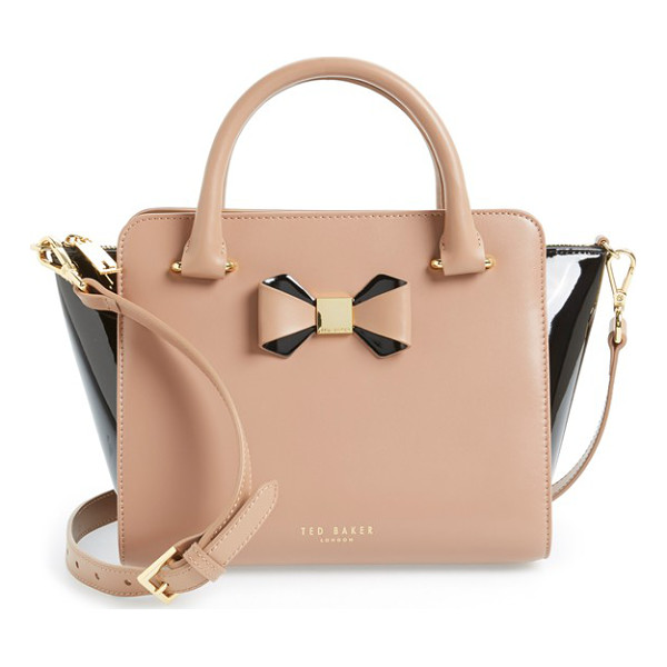 TED BAKER Ashlene - A pert-and-polished bow with goldtone detailing refines a...