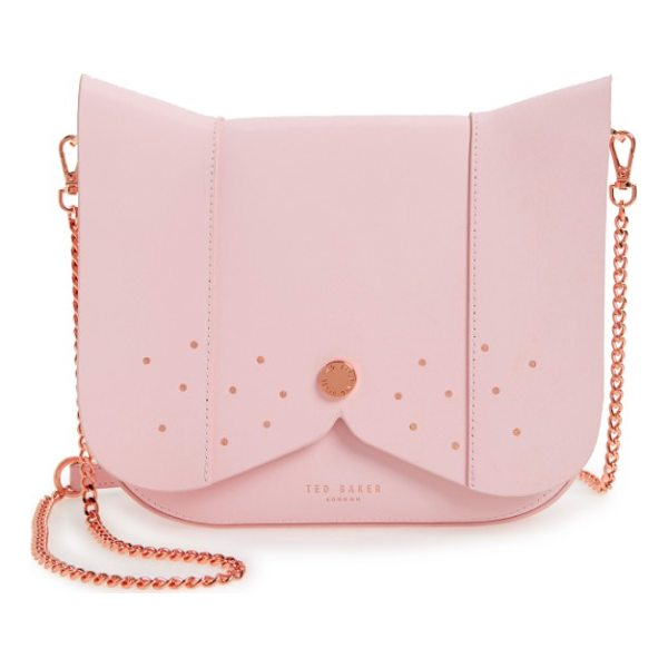 TED BAKER barkley dog leather crossbody bag - You'll be top dog with this canine-inspired handbag...