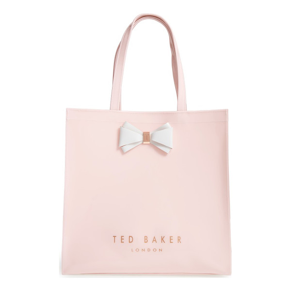 TED BAKER large icon - A signature bow plays up the timeless sophistication of a...
