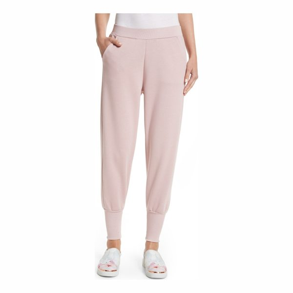 TED BAKER radonna jersey jogger pants - Bringing indulgent comfort to off-duty days, these joggers...