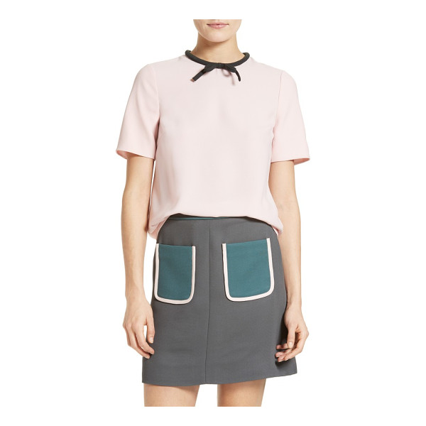TED BAKER sassa tie neck top - From the Colour by Numbers Collection by Ted Baker....