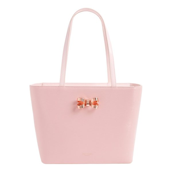 TED BAKER small lamica patent leather shopper - Instantly elevate your around-town style with a subtly...