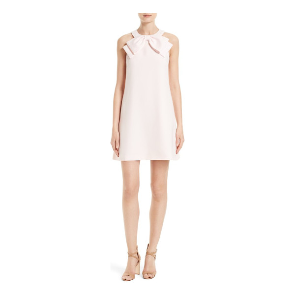 TED BAKER trixia bow neck a-line dress - Abounding with ladylike charm, an A-line shift gets a...