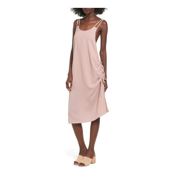 THE FIFTH LABEL the future dream ruched slipdress - Ruching at the side creates rich texture and cool asymmetry...