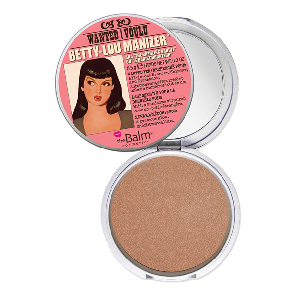 THEBALM Betty-lou manizer bronzing highlighter - Fake it, don't bake it. Before you head out to relish some...