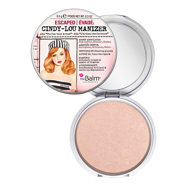 THEBALM Cindy-lou manizer highlighter - Cindy-Lou Manizer by theBalm is a shimmering rose...