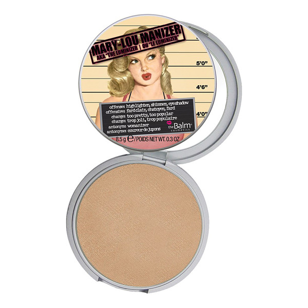 THEBALM Mary-lou manizer highlighting powder - Layer the shimmering highlighter over your lids for a rich...