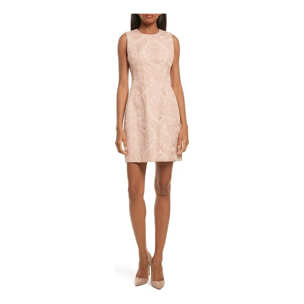 THEORY baroque jacquard hourglass dress - A curve-skimming sheath for any occasion gets a rich and...
