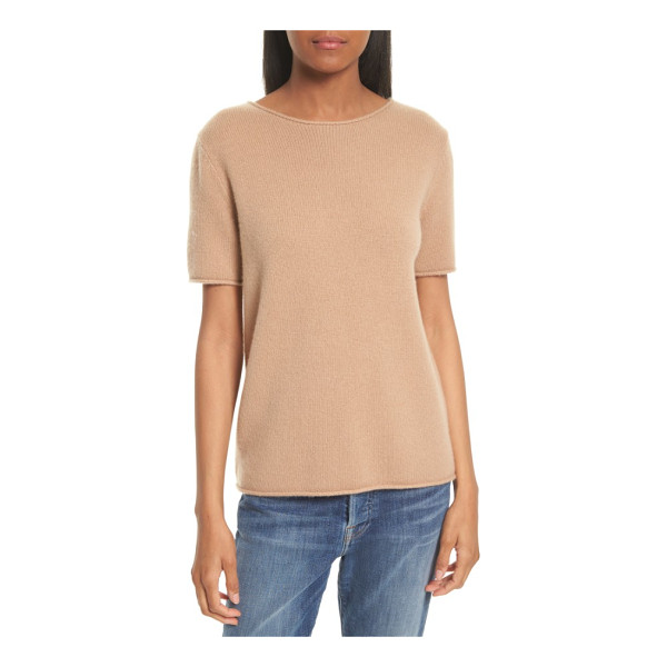 THEORY tolleree cashmere sweater - Finely knit cashmere is crafted into a sumptuously soft...