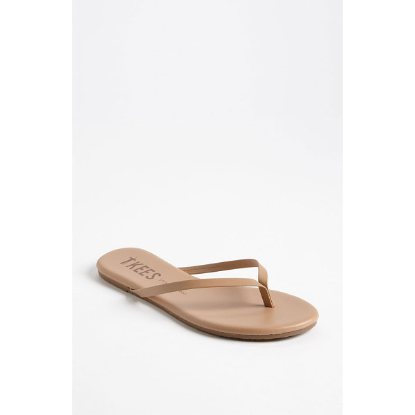 TKEES 'foundations' flip flop - Slim straps show off your pedicured polish on an essential