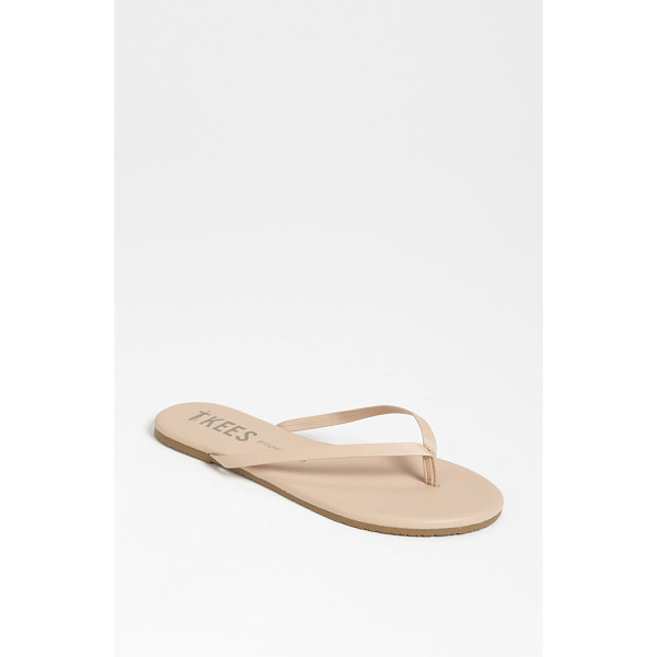 TKEES 'foundations' flip flop - Slim straps show off your pedicured polish on an essential...
