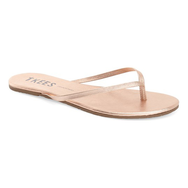TKEES 'highlighters' flip flop - Slim straps emulate a range of polishes, glosses and...