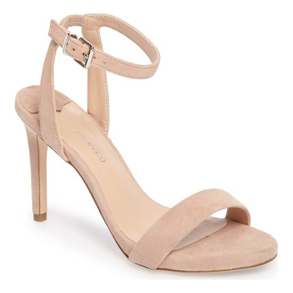 TONY BIANCO char ankle cuff sandal - A slender ankle cuff adds to the subtly daring appeal of a...