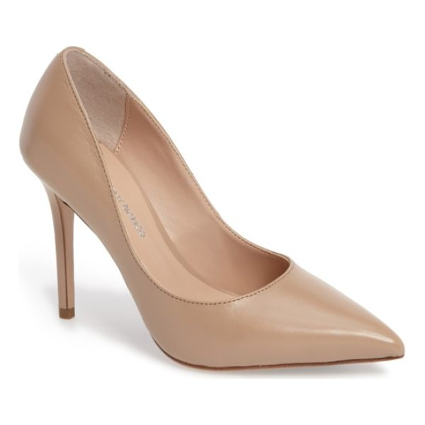 TONY BIANCO dova pump - Keep it classic with a perfectly poised pump shaped from...