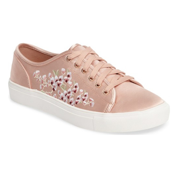 TOPSHOP cupid embroidered sneaker - Even when you're rocking the casual-cool look you can still...