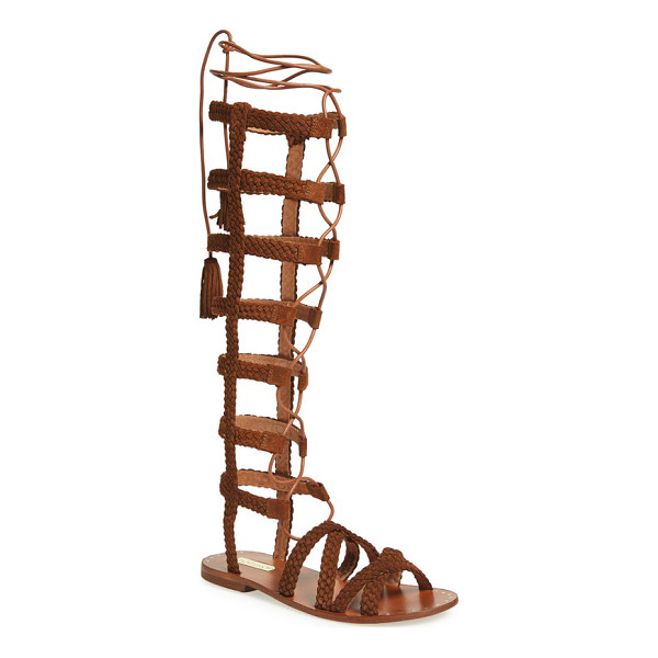 TOPSHOP faraday lace-up gladiator sandal - Stand out from the crowd in a knee-high gladiator sandal...