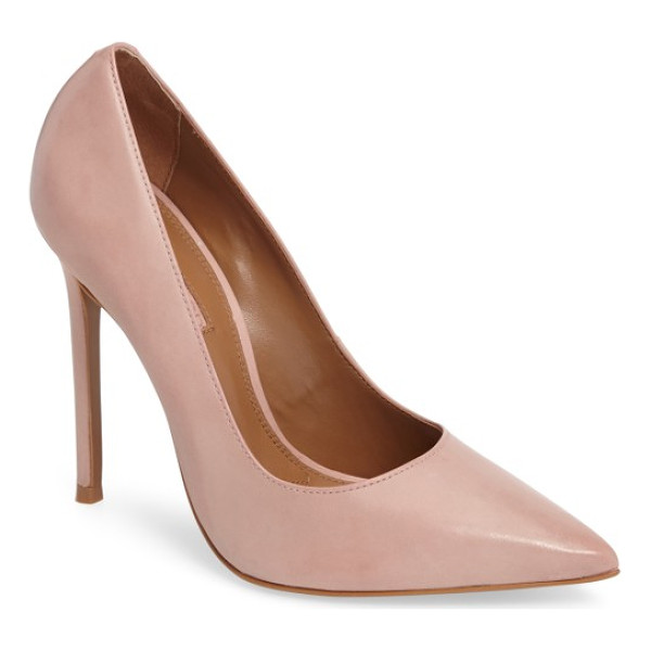 TOPSHOP gamble pointy toe pump - Elevate your look with the eye-catching sophistication of a...