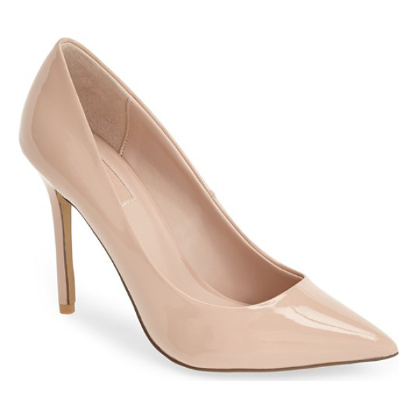 TOPSHOP gemini2 snake effect pointy toe pump - Not your run-of-the-mill snakeskin-embossed shoe, this...