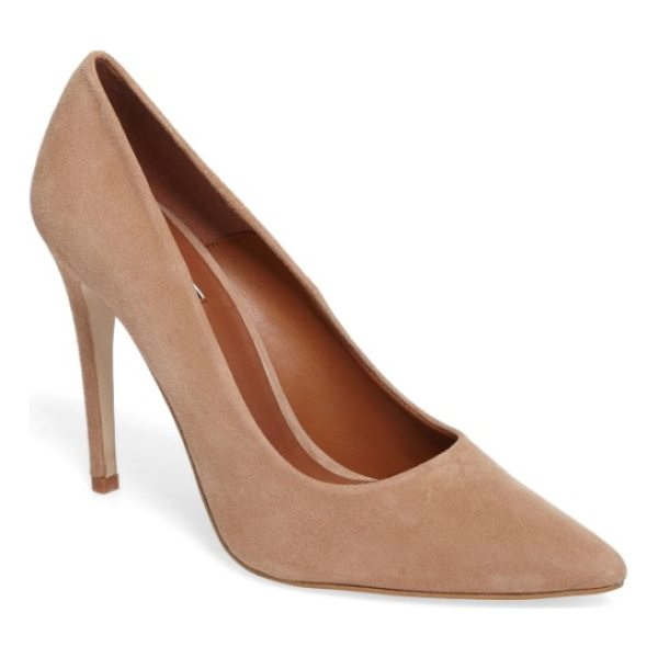 TOPSHOP glorious setback pump - A soaring stiletto and pointed toe dramatically lengthen...