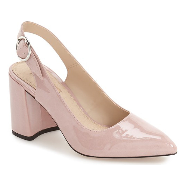 TOPSHOP 'graduate' pointy toe slingback pump - This essential slingback pump features a classic pointy...