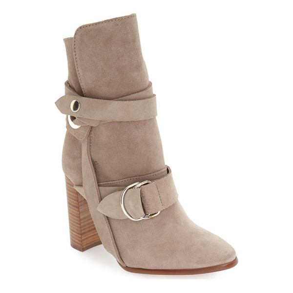 TOPSHOP 'hottie' strap bootie - Straps and more straps bridge the instep and embrace the...
