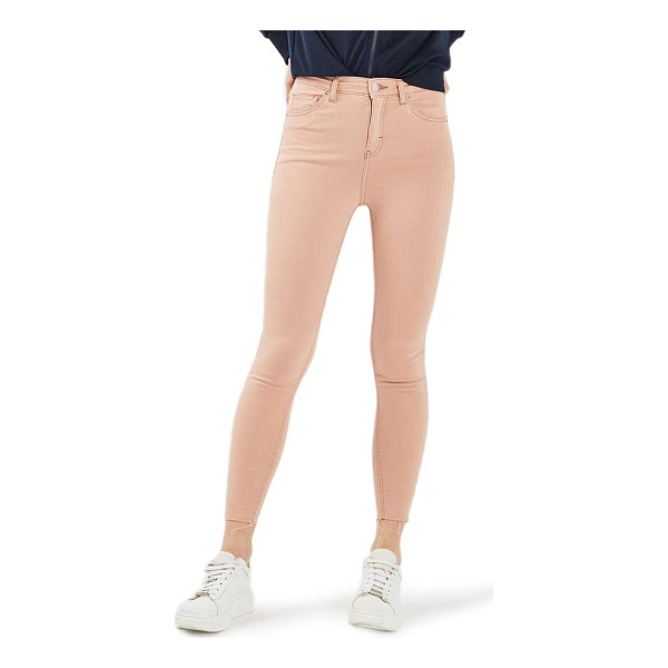 TOPSHOP jamie raw hem skinny jeans - Ankle-length raw hems complete the unapologetically punky...