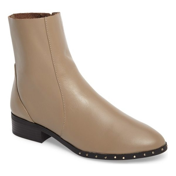 TOPSHOP kash sock boot - Dainty studs on the sole add a hint of shine to sleek ankle...