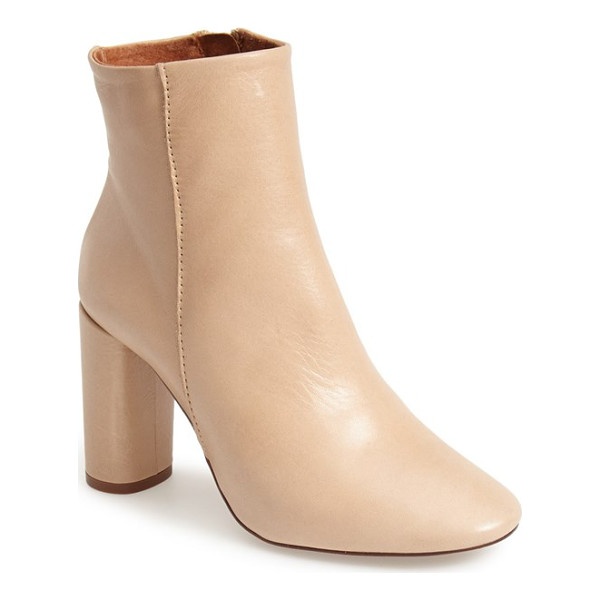 TOPSHOP magnum leather ankle boot - Super sleek and chic, this refined ankle boot is crafted...