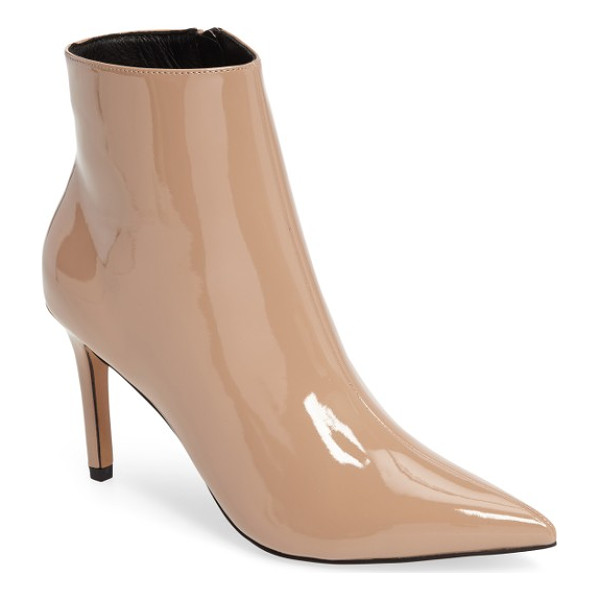 TOPSHOP mimosa pointy toe bootie - Simplicity makes a statement with this sleek bootie that...
