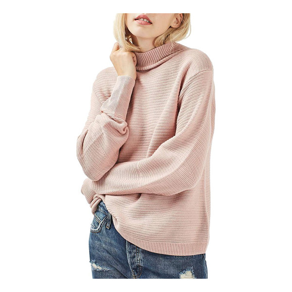 TOPSHOP mixed stitch sweater - Comfy-day looks just got softer with this...