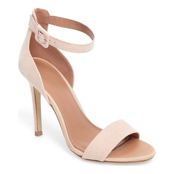 TOPSHOP morgan sandal - Soft texture highlights the elegant profile of these...