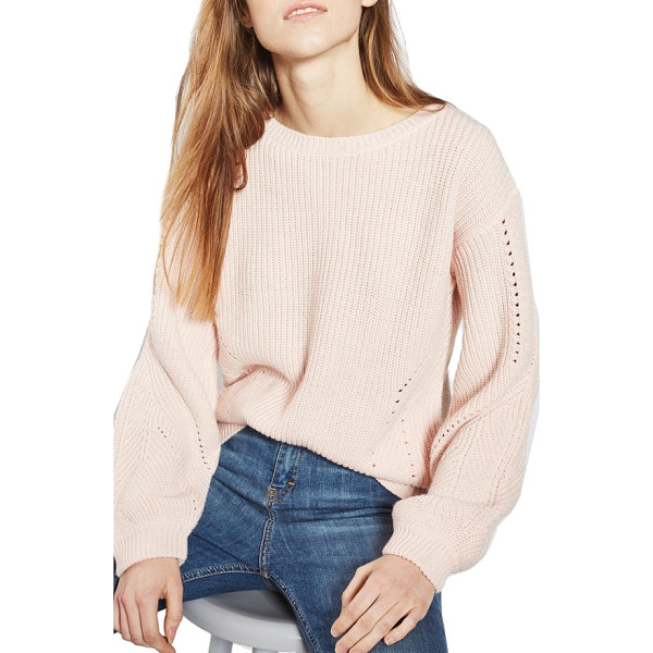 TOPSHOP open back sweater - A wool-kissed open-back sweater with open pointelle...