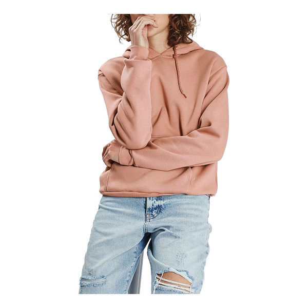 TOPSHOP oversize hoodie - Stay cozy when you dash to the store on a drizzly morning...