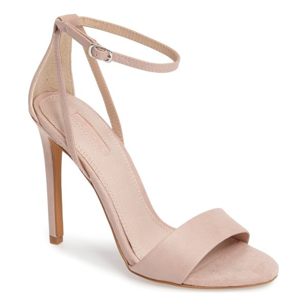 TOPSHOP raphael new genuine calf hair sandal - Genuine calf hair details the toe and heel of this barely