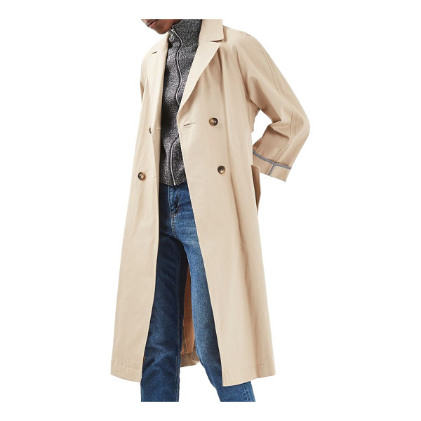 TOPSHOP relaxed trench coat - Practically the definition of timeless, this classic trench...