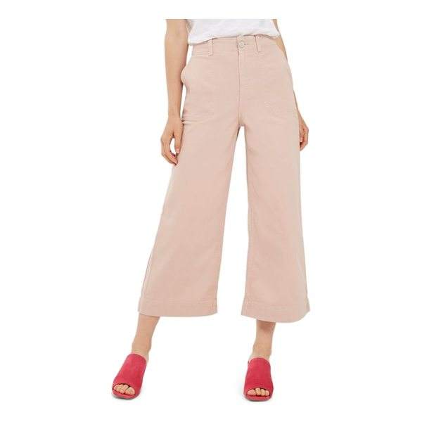 TOPSHOP sailor crop trousers - A smart and sophisticated off-duty look is never too...