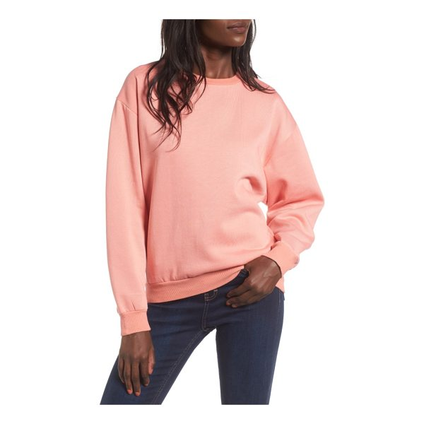 """TOPSHOP sloppy sweatshirt - In this case, """"sloppy"""" is a good thing, because a..."""