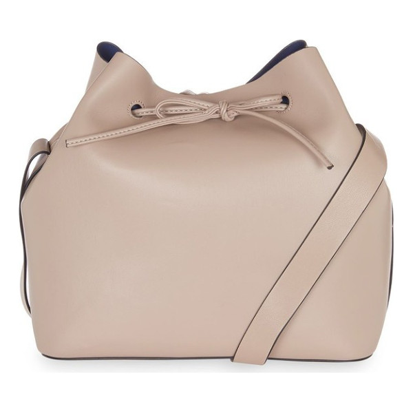 TOPSHOP stella faux leather bucket bag - Toss whatever you need for the day in this soft faux...