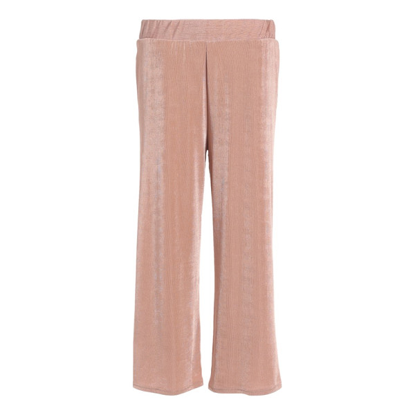 TOPSHOP textured wide leg pants - Take the comfort of lounge pants, add a wide leg, ribbed...