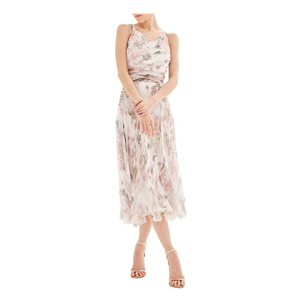 TOPSHOP bride silk midi dress - Fill the venue with summery romance in this floaty,...