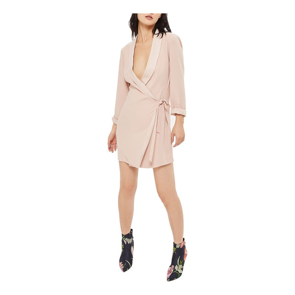 TOPSHOP wrap blazer dress - Your refreshments will always be served shaken (not...