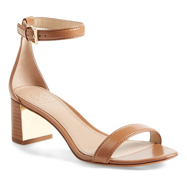 TORY BURCH cecile ankle strap sandal - Sure to be a favorite this season, this minimalist...