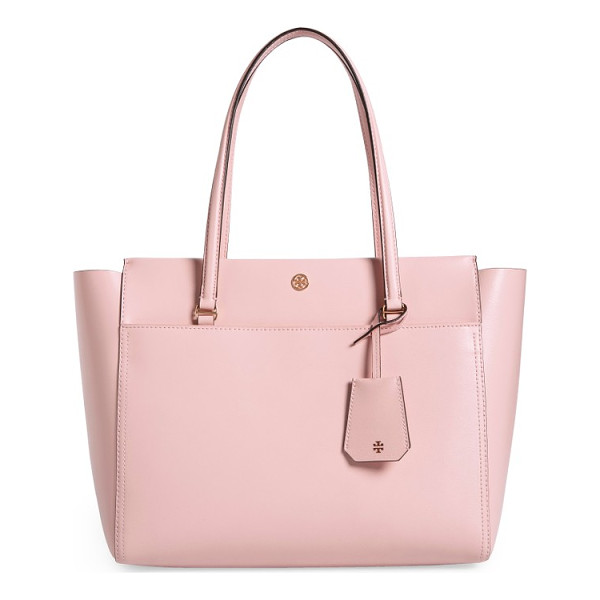 TORY BURCH parker leather tote - A bag that can keep up with you and look super-chic? It's a...
