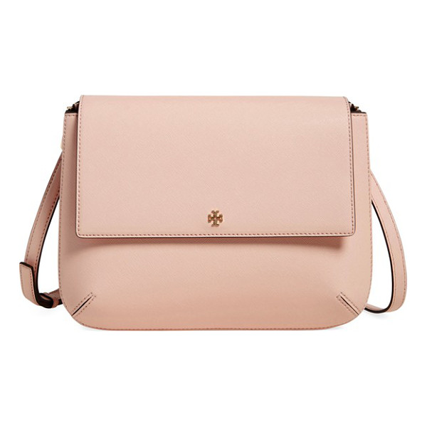 TORY BURCH Robinson crossbody bag - Rich, scratch-resistant Saffiano leather adds to the chic...