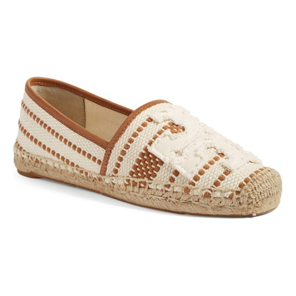 TORY BURCH shaw espadrille - Earthy style and signature sophistication merge in a...