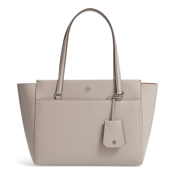 TORY BURCH small parker leather tote - A bag that can keep up with you and look super-chic? It's a...