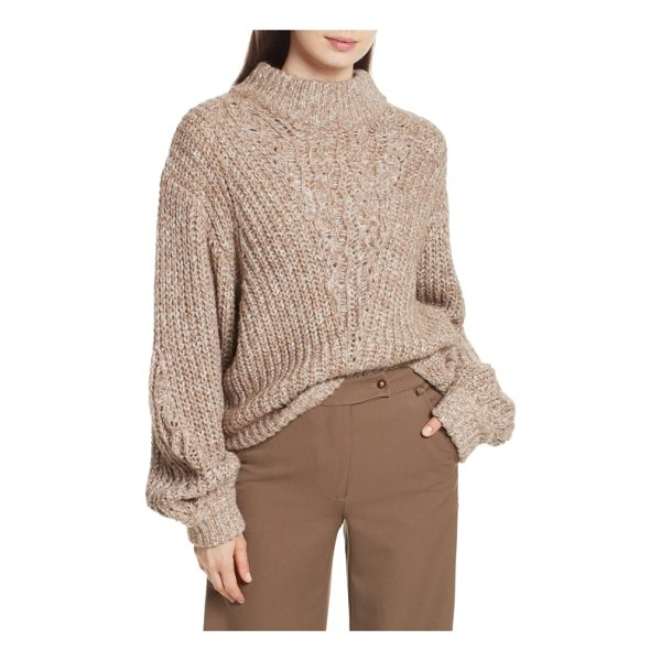 TRACY REESE cowl neck sweater - An easy cowl neck enhances the slouch factor of an...